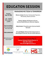 Multiple Sclerosis Education Session