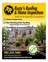 rusty's roofing & Home Inspections