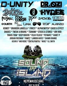 Sound Island Festival tickets-Nepewassi Lake