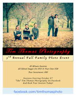 Fall Family Photo Event 2015