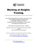 Working at Heights Training