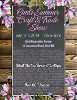 Gimli Summer Craft & Trade Show