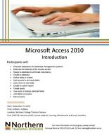 Microsoft Access Introduction - N. College