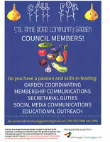 Looking for Council Members