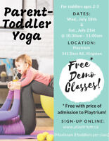 NEW Parent and Toddler Yoga Series