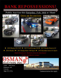 BANK REPOSSESSION UNITS UP FOR AUCTION THIS SATURDAY!