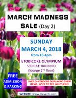 VENDORS WANTED SHOW MAR 4, 2018