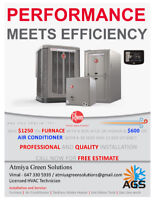 Atmiya Green Solutions Ltd. !!! Heating & Cooling !!!