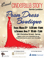 PROM DRESS BOUTIQUE - Cinderella Story of Sarnia-Lambton