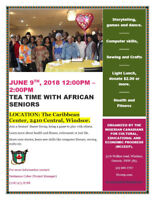 Tea Time with African Seniors
