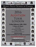 Quinte Ballet School of Canada - London Audtion