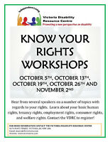 Know Your Rights Workshops
