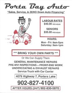 Portabay Auto  ☀ Bring your own Parts ☀ Senior Rates Everyday☀