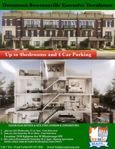 Executive condos and townhomes from 299,990