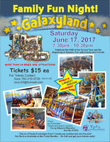 Galaxyland Tickets! $15.00 per ticket!