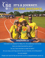 St. Thomas Ontario - Relay For Life Leadership Volunteer Role