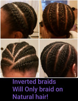 Kids Hair Braiding & Elastic band styles