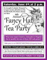 FANCY HAT TEA PARTY for Charity