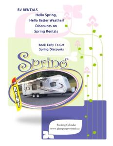 Hello Spring, Hello Better Weather!  RV Rentals