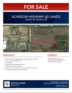 Acheson Highway 60 Lands
