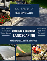 Property Maintenance. Lawn & Garden Spring Cleanups, Tree Care