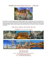 Spectacular Italy Pilates, Yoga & Walking Tour - Fall 2016