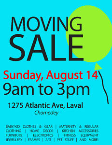 Major Garage Sale! Everything Must Go!