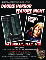 Double Feature Horror Night: A Quiet Place and Child's Play