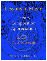Theory, Composition, Appreciation - Acoustic and Electroacoustic