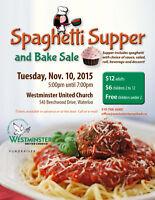 Annual Spaghetti Supper & Bake Sale