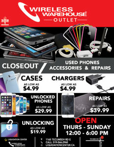 Wireless Warehouse Outlet Store-Now Open Save on all Wireless