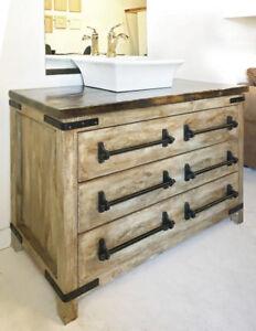 Beautiful Custom Vanities. Traditional, Contemporary, Rustic
