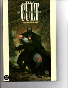 BATMAN THE CULT TPB VF/NM (1991) 1ST PRINT JIM STARLIN