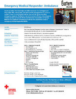 EMR - Ambulance Training & Full Time Employment Avail.