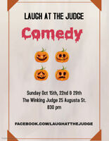 Laugh at the Judge Comedy Sunday