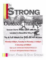 Small Group Outdoor Training in the NW!!