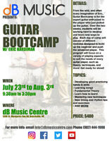 Summer Music Lessons and camps at dB Music