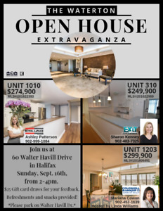 Open House Extravaganza at The Waterton!