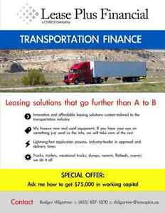 Truck and Trailer Financing Commercial