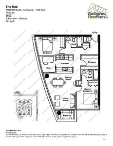 2 Bed 2Bath + Den at The Max in Yaletown