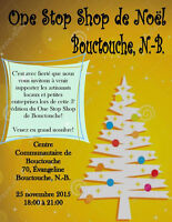 Christmas One Stop Shop Noel Bouctouche!