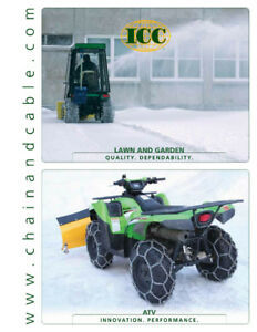 Ice Chains - ATV/Truck/Tractor/Forestry