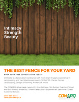 Get the best fence for your yard (519) 569-0883