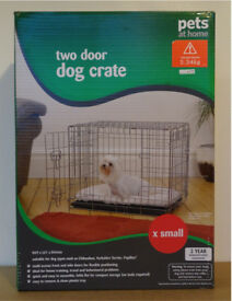 Dog crate: X Small Pets-at-Home