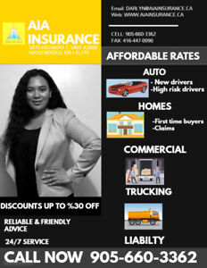AFFORDABLE CAR INSURANCE IN THE GTA   LOW RATES