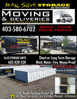 Moving? Book Today! Railside Storage.