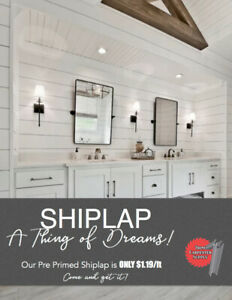 Shiplap | Great Deals on Home Renovation Materials in