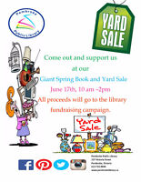 Pembroke Public Library Giant Book and Yard Sale