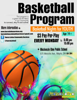 Join our weekly Basketball Program!