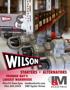 We have your Starters & Alternators!